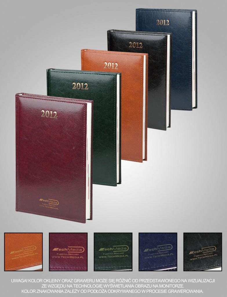 Kalendarze 2012 z grawerem